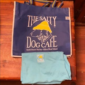 Salty Dog Cafe T-Shirt and Bag